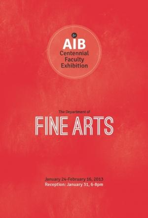 Art Institute of Boston Fine Arts Faculty Exhibition